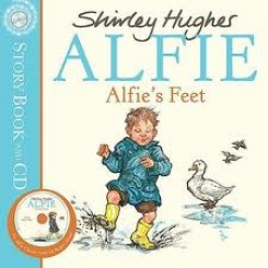 ALFIE'S FEET - BOOK AND CD